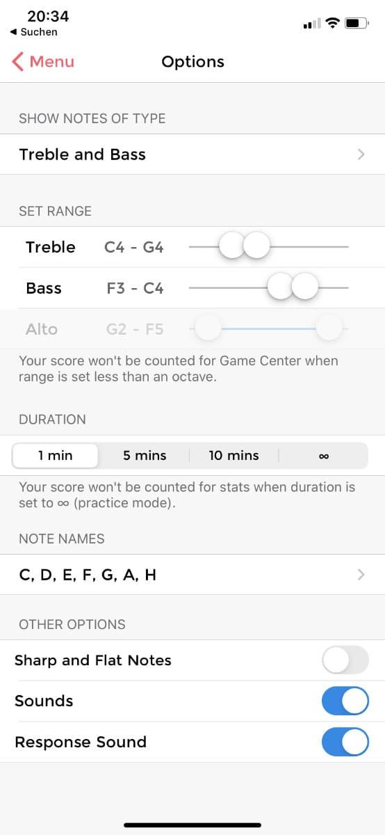App Klavier lernen Music Tutor