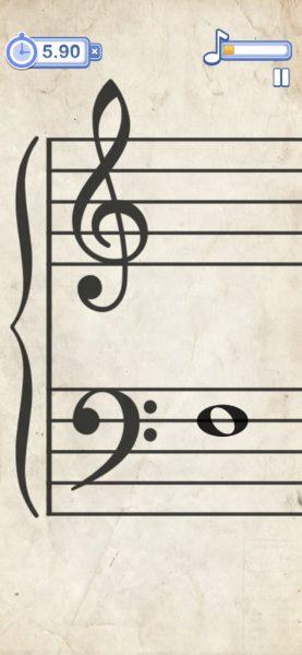 App Klavier lernen Note Rush